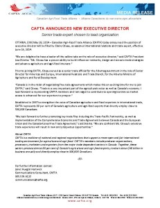CAFTA ED Announcement Final